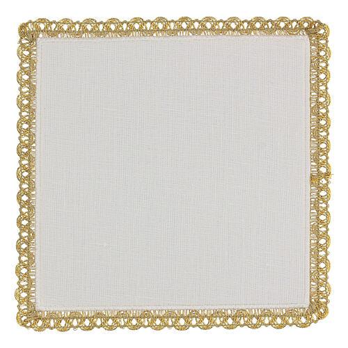 Servicio misa 4 piezas 100% hilo motivos oro Limited Edition 4