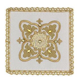 Servizio messa 4 pz. 100% lino decori oro Limited Edition s1