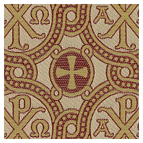 Pall for chalice in brocade fabric s2