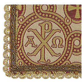 Pall for chalice in brocade fabric s3