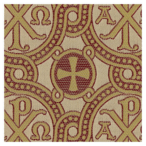 Pall for chalice in brocade fabric 2