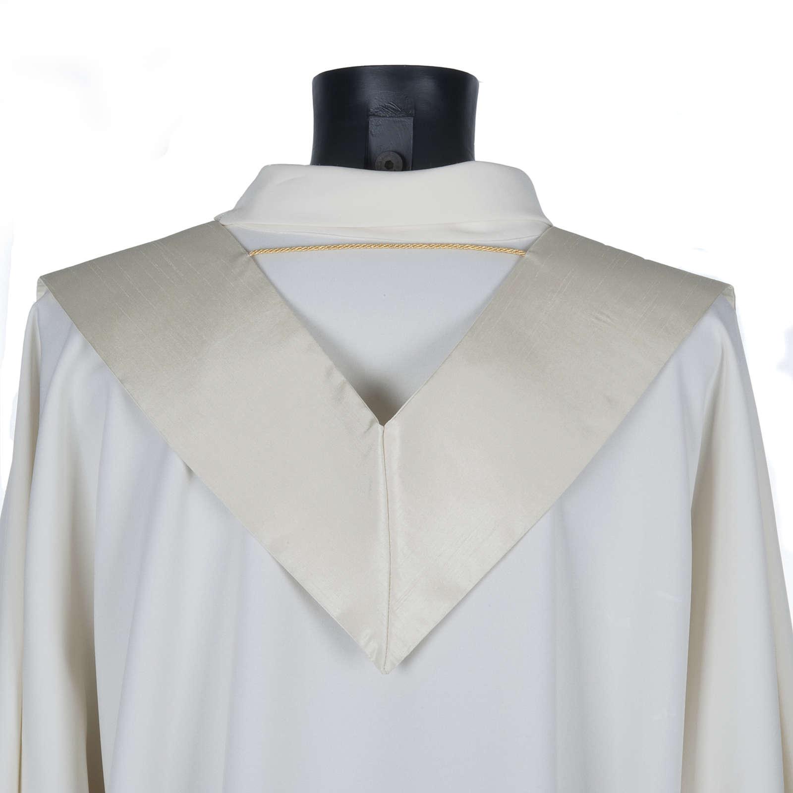 Priesterstola, Goldstickerei, Shantung 4