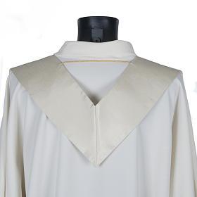 Priesterstola, Goldstickerei, Shantung s4