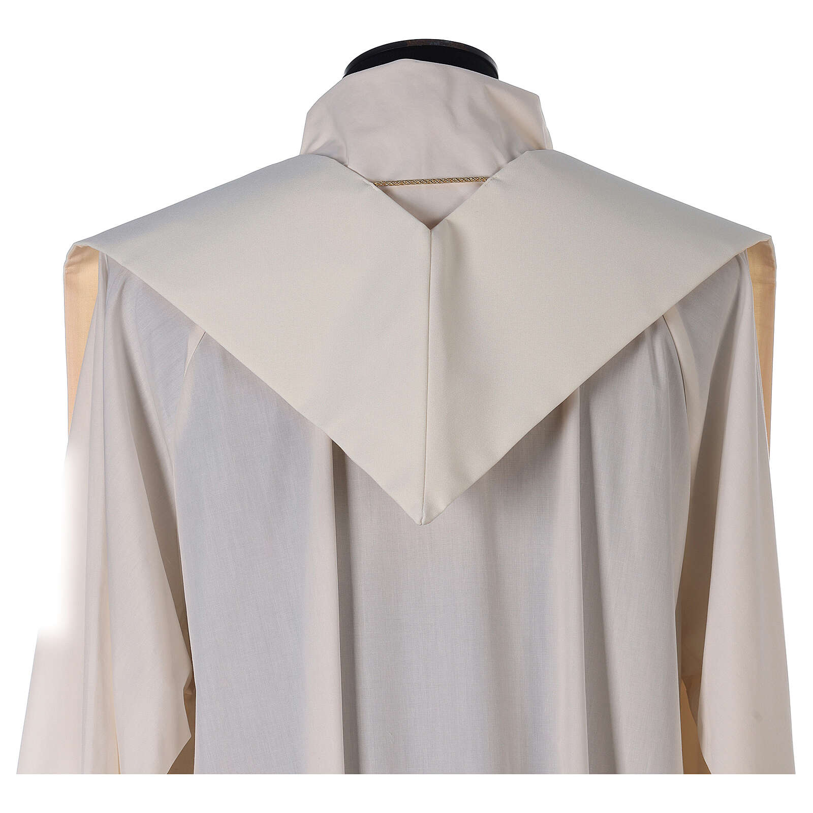 Etole liturgie polyester avec décor doré carr&eacut 4