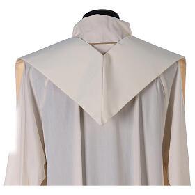 Etole liturgie polyester avec décor doré carr&eacut s3