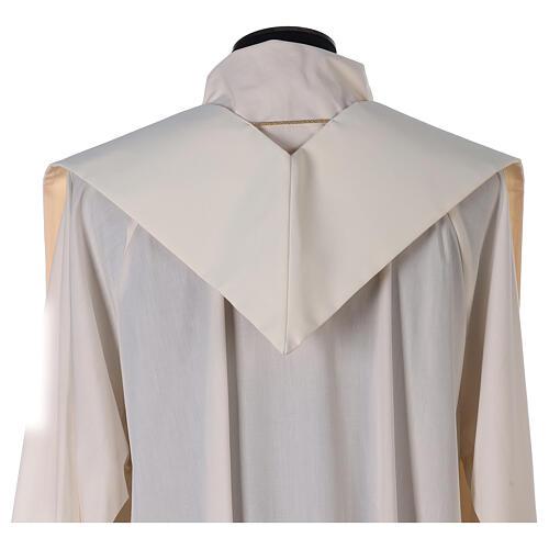 Etole liturgie polyester avec décor doré carr&eacut 3