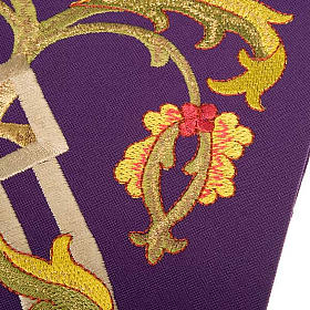 Priest stole with IHS embroidery 4 colours s5