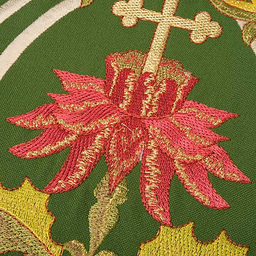 Priest stole with IHS embroidery 4 colours 8