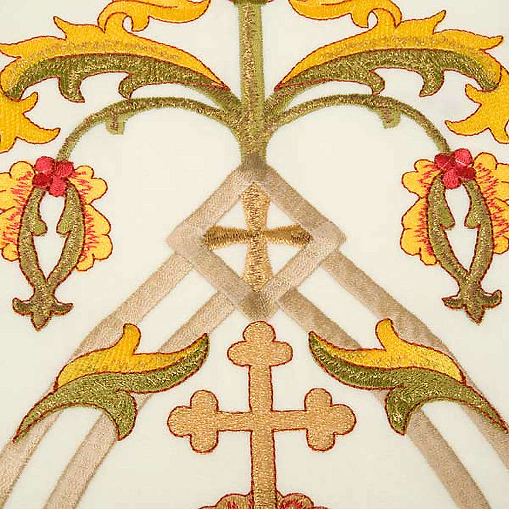 Estola sacerdotal con bordados IHS 4