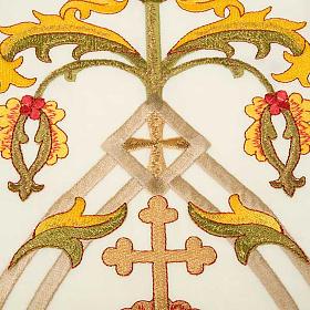 Estola sacerdotal con bordados IHS s4