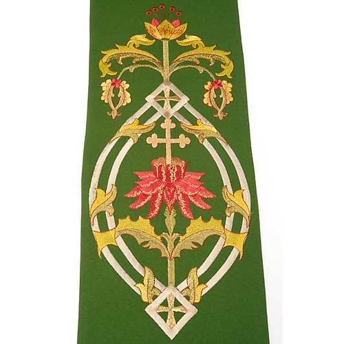 Estola sacerdotal con bordados IHS 9