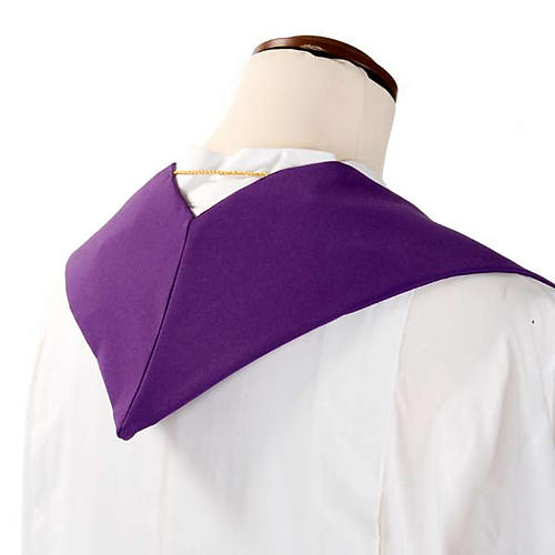 Clergy Stole with deer at the water stream and cross 6