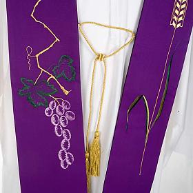 Stola sacerdotale uva e spiga s4