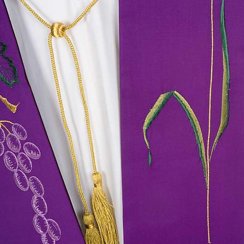 Stola sacerdotale uva e spiga 3