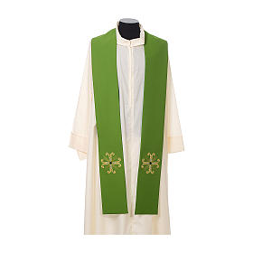 Clergy Stole with cross and glass bead s2