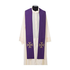 Clergy Stole with cross and glass bead s5