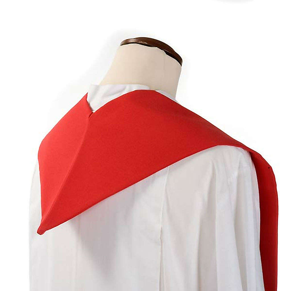 Étole de prêtre épis raisin coloré 4