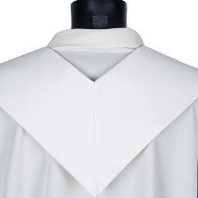 Étole de prêtre croix tressée s4