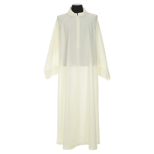 Clergy Stole in polyester with chalice, Eucharist, grapes and ear of wheat 13