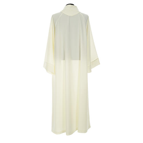 Clergy Stole in polyester with chalice, Eucharist, grapes and ear of wheat 14