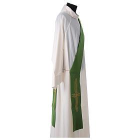 Stola diaconale poliestere croce s7