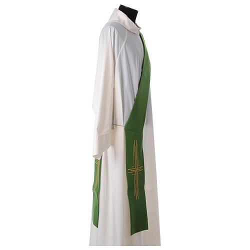 Stola diaconale poliestere croce 7