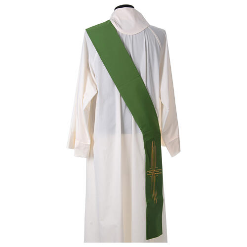 Stola diaconale poliestere croce 8