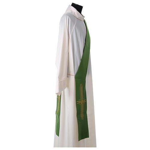 Stuła diakońska poliester krzyż 3
