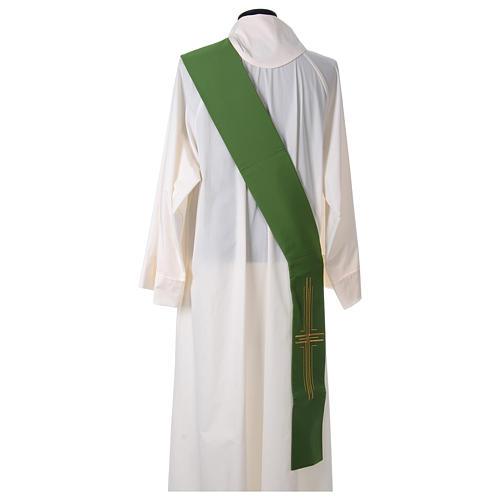 Stuła diakońska poliester krzyż 4