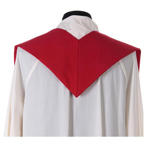 Stola croce stilizzata 100% poliestere 8