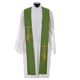 Stola stilisierten Kreuz und Laterne aus Polyester s6