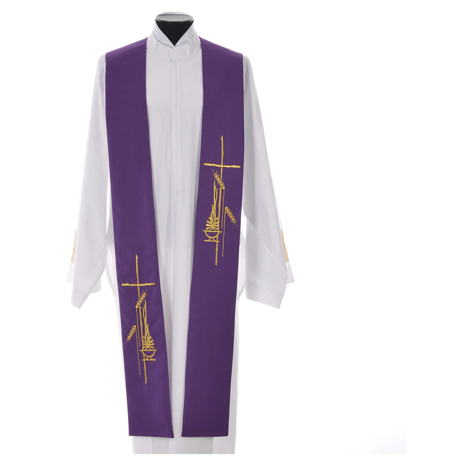 Stolone 100% poliestere croce stilizzata e lampada 4