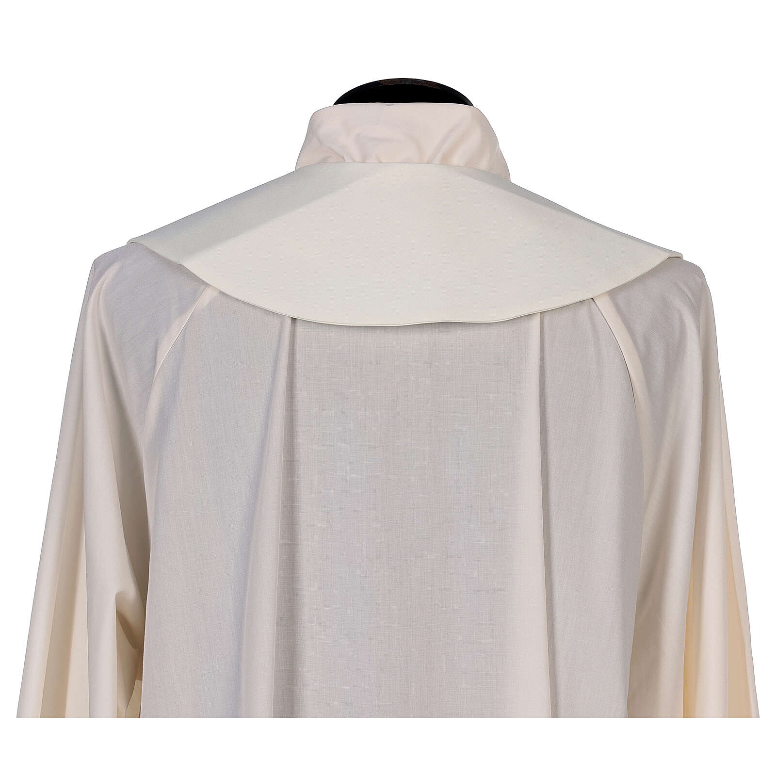 Stole in 100% polyester with loaves and doves 4