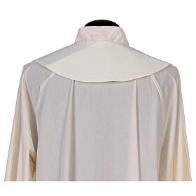 Clergy Stole in 100% polyester with loaves and doves s3