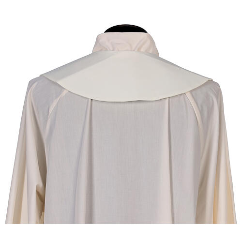 Clergy Stole in 100% polyester with loaves and doves 3