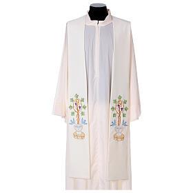 Stolone 100% poliestere fonte battesimale s1