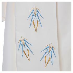 Stolone 100% poliestere ricamo mariano Ave Maria s4