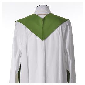 Etole liturgique 100% polyester croix et rayons s6