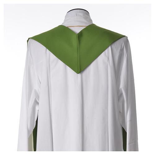 Etole liturgique 100% polyester croix et rayons 6