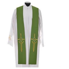 Etole IHS croix épis 100% polyester s6