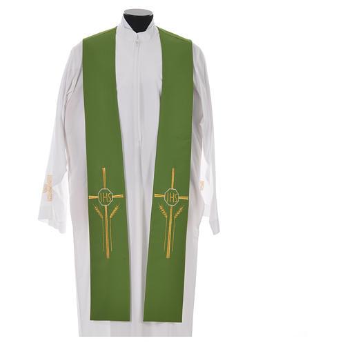 Etole IHS croix épis 100% polyester 6