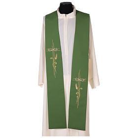 Etole liturgique croix épi 100% polyester s1