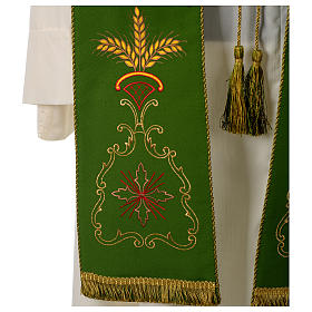 Gothic stole in 100% polyester s6