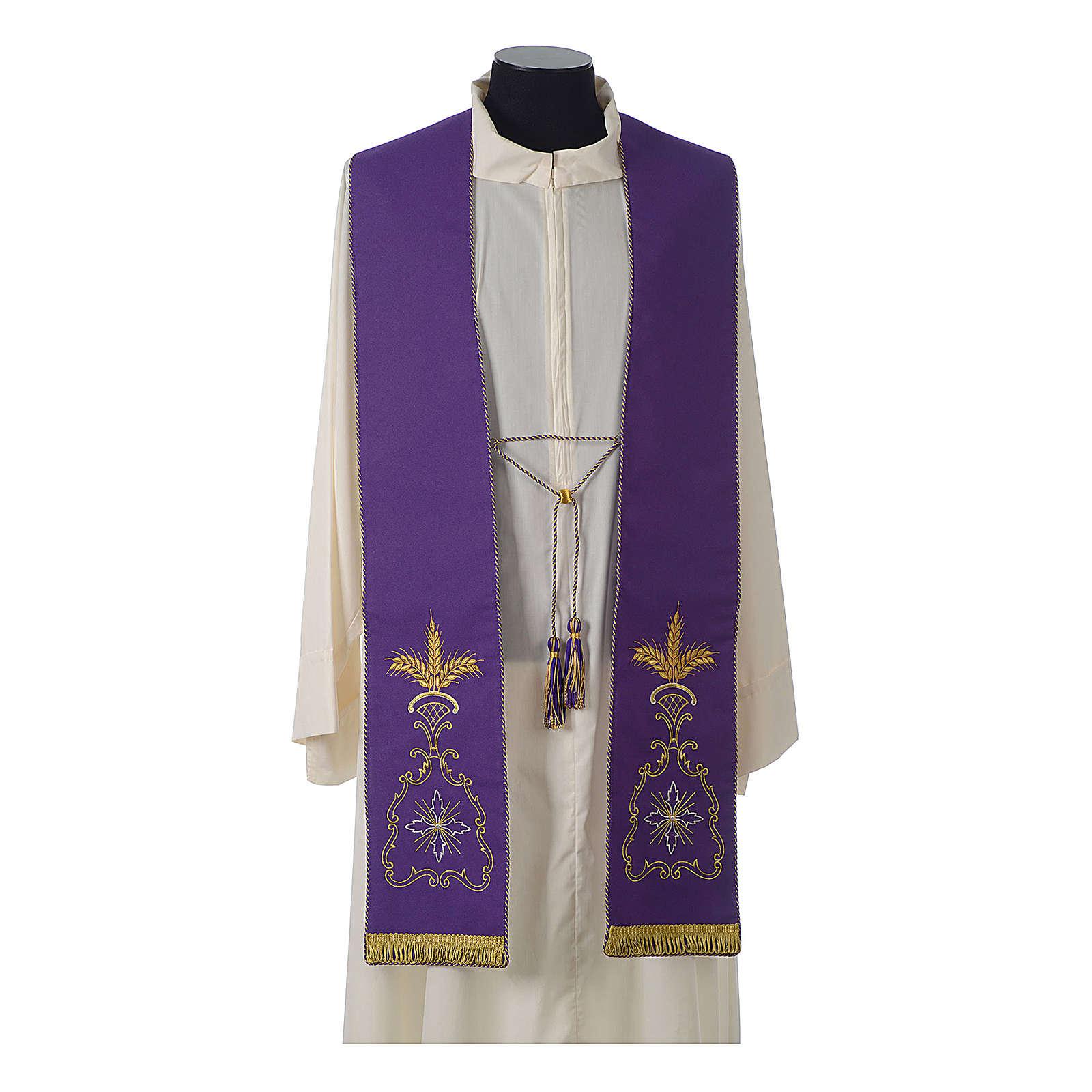 Stolone gotico 100% poliestere 4