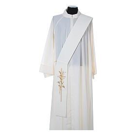 Stuła diakonów krzyż kłosy 100% poliester s4