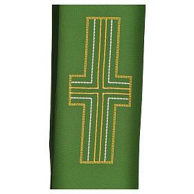 Stuła diakonów krzyż 100% poliester s8