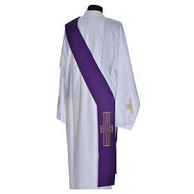 Stuła diakonów krzyż 100% poliester s11
