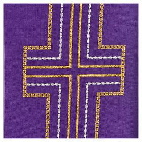 Stuła diakonów krzyż 100% poliester s3