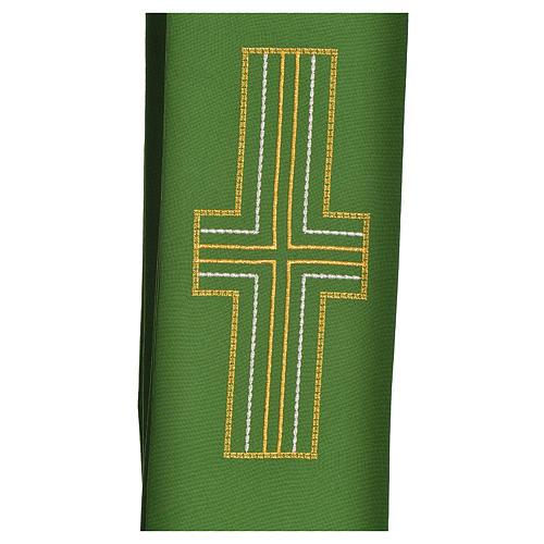 Stuła diakonów krzyż 100% poliester 2