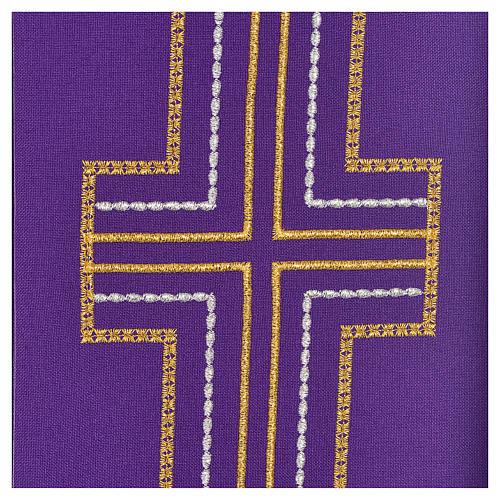 Stuła diakonów krzyż 100% poliester 3